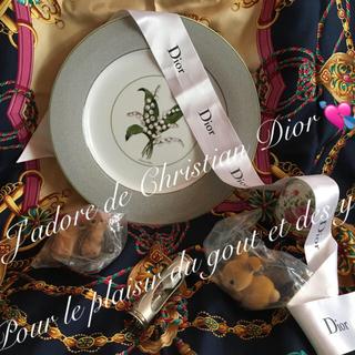 クリスチャンディオール(Christian Dior)のレア クリスチャンディオール お皿 アンティーク エッグ ミニチュア ビンテージ(食器)