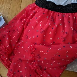 バービー(Barbie)のBarbieシフォンスカート(スカート)