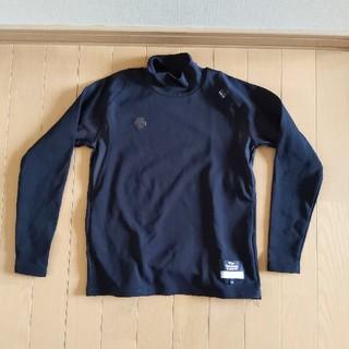 デサント(DESCENTE)の野球DESCENTEデサントのアンダーシャツ140サイズ裏起毛使用品ブラック(ウェア)