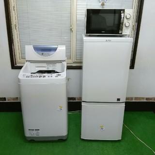 (地域限定配送無料) 家電品2点セット (直接引き取り大歓迎❗)(冷蔵庫)