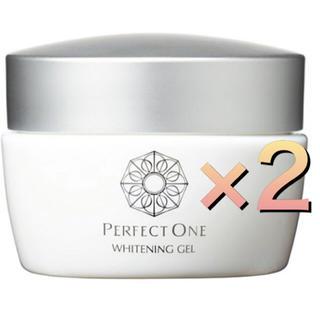 パーフェクトワン(PERFECT ONE)のパーフェクトワン 薬用ホワイトニングジェル 75g×2(オールインワン化粧品)