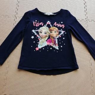 エイチアンドエム(H&M)のアナ雪ロンT(Tシャツ/カットソー)