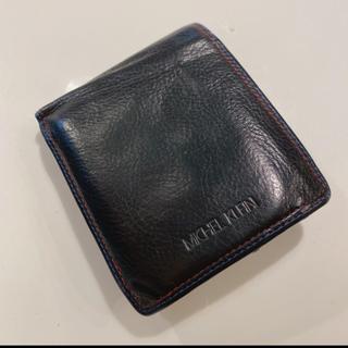 ミッシェルクラン(MICHEL KLEIN)のMichel Klein 二つ折り財布 黒/ブラック(折り財布)