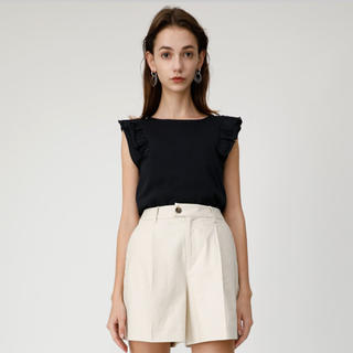moussy - MOUSSY CENTER PRESS SUMMER SHORTS