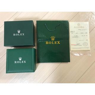 ロレックス(ROLEX)のロレックス時計空箱(その他)