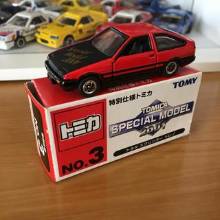 タカラトミー(Takara Tomy)のトミカ イベントモデル トヨタ AE86 トレノ(ミニカー)