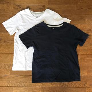 エイチアンドエム(H&M)のh&m Tシャツ2枚セット(Tシャツ/カットソー)