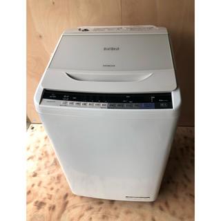 ヒタチ(日立)の☆送料込み☆日立 ビートウォッシュ 全自動洗濯機 BW-V80A(洗濯機)