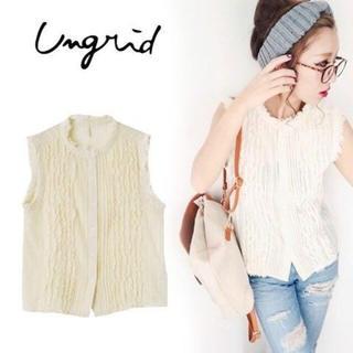 Ungrid - アングリッド  ノースリシャツ