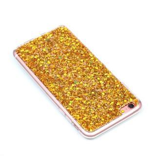 iPhone6 / iPhone6s ゴールド ラメ ソフトケース (iPhoneケース)