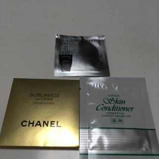 シャネル(CHANEL)の化粧品 サンプルセット(サンプル/トライアルキット)