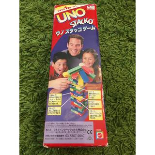 ウーノ(UNO)のUNO STACKO ウノスタッコゲーム(トランプ/UNO)