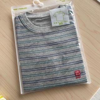 ユニクロ(UNIQLO)のUNIQLO  Tシャツ  90(Tシャツ/カットソー)
