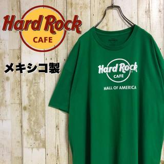 ハードロックカフェ モールオブアメリカ プリントTEE グリーン XXL(Tシャツ/カットソー(半袖/袖なし))