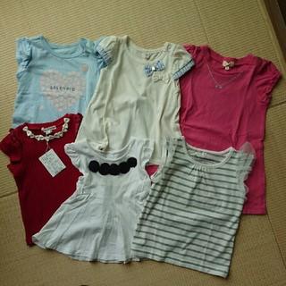 エニィファム(anyFAM)の女の子 まとめ売り90 6点(Tシャツ/カットソー)