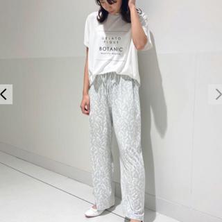 gelato pique - 新品☆ ボタニカルレーヨンロゴTシャツ&ロングパンツ