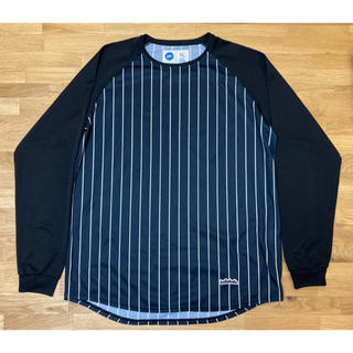 asics - 【美品】ballaholic Stripe COOL LongTee XL 黒