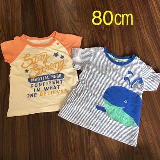 エイチアンドエム(H&M)のTシャツ 2枚セット(Tシャツ)
