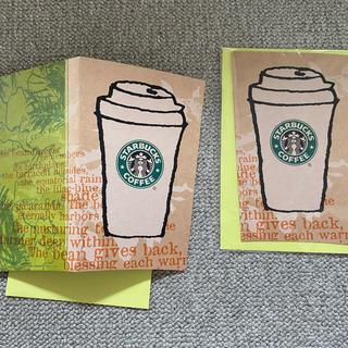 スターバックスコーヒー(Starbucks Coffee)のスターバックスコーヒー 旧ロゴ ポストカード(ノベルティグッズ)
