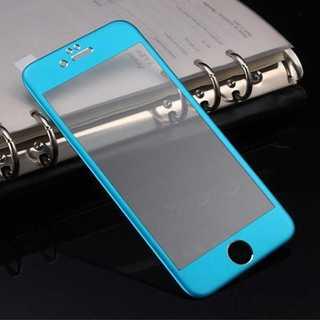 iPhoneSE第2世代 ブルー チタンフレーム(モバイルケース/カバー)