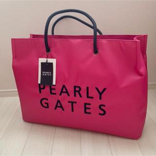 PEARLY GATES - 新品■15,400円【パーリーゲイツ 】カートバック、ショッパーバック