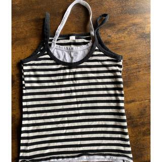 ユニクロ(UNIQLO)の130サイズキャミソール UNIQLO(Tシャツ/カットソー)