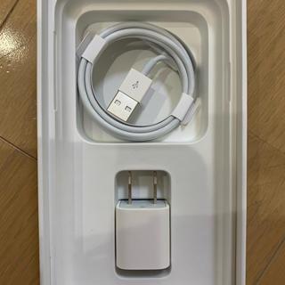 アイフォーン(iPhone)のiPhone 【純正】充電器 USBケーブル、アダプタ(バッテリー/充電器)