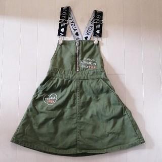 ALGY 130サイズ ジャンパースカート(ワンピース)