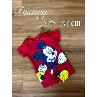 Disney - ロンパース Disney  ミッキー 6〜9ヶ月