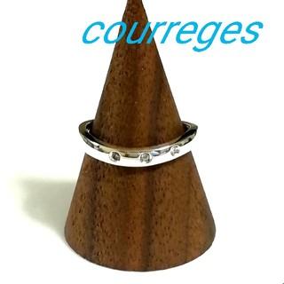 クレージュ(Courreges)のクレージュ courreges シルバーリング 10.5号(リング(指輪))