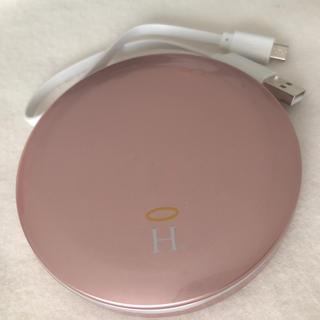 ヘイロー コンパクトミラータイプ ポータブル充電器(バッテリー/充電器)