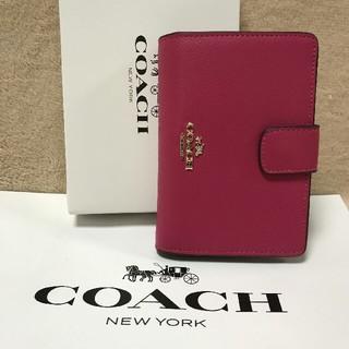 COACH - 新品COACH コーチ 二つ折り財布 正規品 アウトレットF53436
