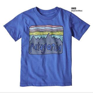 patagonia - パタゴニア 2018SSモデル 4T Tシャツ ブルー 青