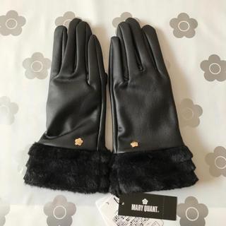 MARY QUANT - 手袋(ブラック)