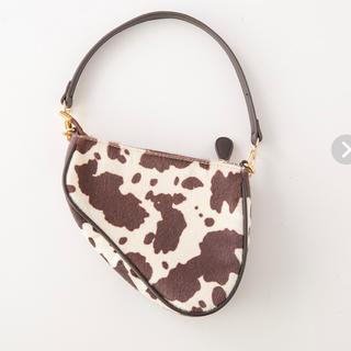 シールームリン(SeaRoomlynn)の【完売品】PIPING COW BAG カウバッグ(ハンドバッグ)