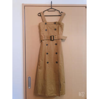 moussy - 美品!DOUBLE BUTTON FLARE ドレス