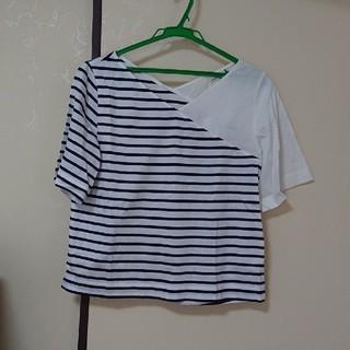 アウィーエフ(AuieF)の半袖カットアンドソーン(Tシャツ(半袖/袖なし))