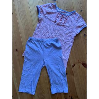 ユニクロ(UNIQLO)の女の子半袖パジャマ 110〜120cm (パジャマ)