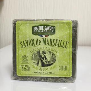 アレッポノセッケン(アレッポの石鹸)のフランス製 マルセイユ オリーブ石鹸  無添加 300g(ボディソープ/石鹸)