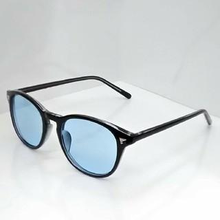 新品 サングラス ブルー【限定 現品限り】本日限定値下げ5555→3000(サングラス/メガネ)
