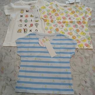 UNIQLO - ユニクロ すみっコぐらし 半袖Tシャツ 100
