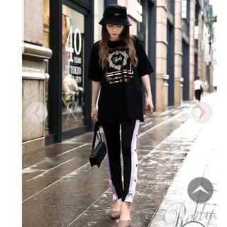 Rady - Rady  ☆ホテルシリーズTシャツ ブラック M☆