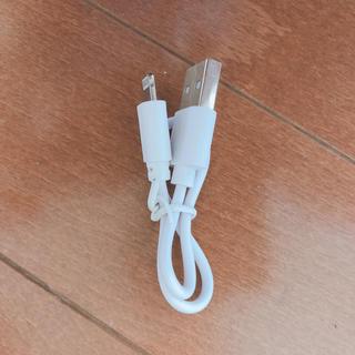 ケーブル iPhone(バッテリー/充電器)