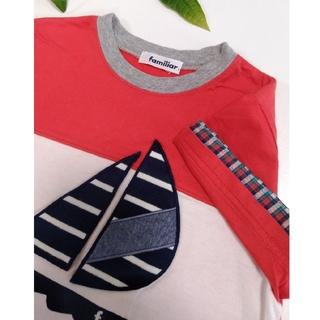 familiar - ファミリア Tシャツ ヨット 110