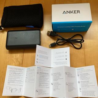 アンカー ANKER モバイルバッテリー(バッテリー/充電器)