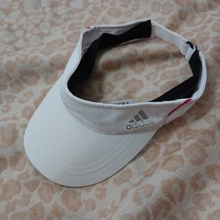 アディダス(adidas)のアディダスサンバイザー(キャップ)