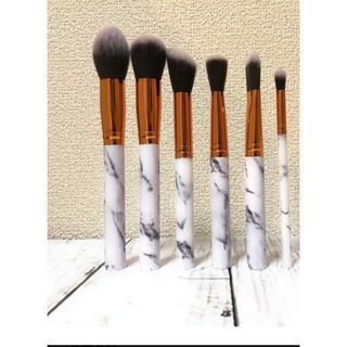 お洒落な大理石模様 美容・敏感肌・化粧筆・化粧ブラシ