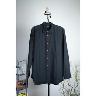コムデギャルソン(COMME des GARCONS)のコムデギャルソンオムプリュス 裏地切り替え デザインシャツ 裁ち切り(シャツ)