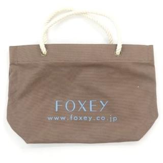 FOXEY - FOXEY  レアノベルティ ロープハンドル トートバッグ