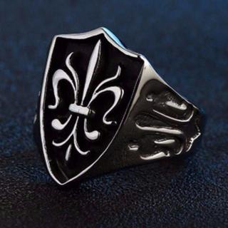 ユリ 紋章 リング 指輪 16号(リング(指輪))
